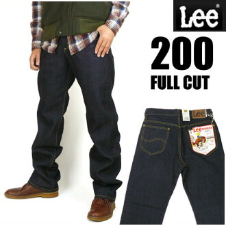 LEE (Lee ) 200 one wash - FULL CUT / full cut-loose because of the straight 02000