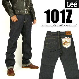 Lee リー メンズ ジーンズ 101Z ストレート ワンウォッシュ Lee RIDERS AMERICAN RIDERS 日本製 LM5101-500