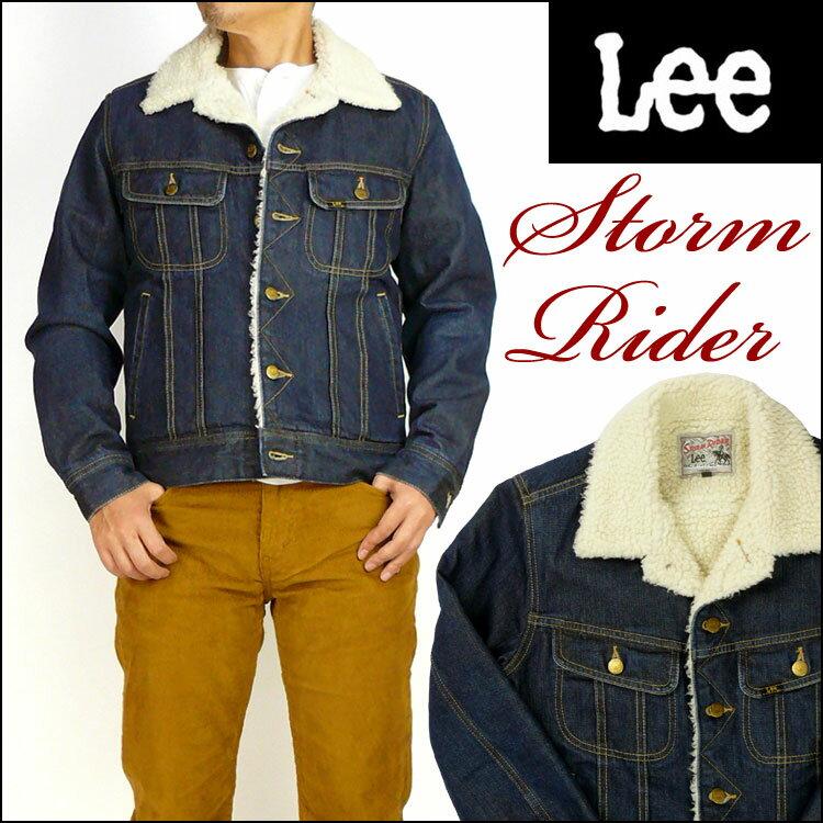 【送料無料】 Lee (リー) STORM RIDER -ストームライダー/濃いめのユーズドブルー- LT0523 【smtb-k】【ky】
