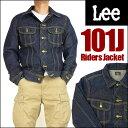 Lee (リー) 101J RIDERS JACKET/101J ライダースジャケット 濃色ブルー デニムジャケット/Gジャン LT0521 【送料無料…