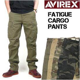 AVIREX アビレックス FATIGUE CARGO PANTS ファティーグ カーゴパンツ ミリタリーパンツ メンズ 6166110 6166111
