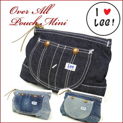 Lee(リー)OVERALLPOUCHMINI/オーバーオールポーチミニ-男女兼用-LA0030