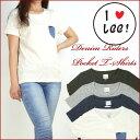 【30%OFFセール】Lee (リー) -Lady's- DENIM RIDERS POCKET T-SHIRTS -デニムポケットTシャツ- LS7195 プレゼント ギフト