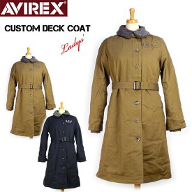セール AVIREX アビレックス カスタム デッキ コート レディース CUSTOM DECK COAT ミリタリージャケット6282039