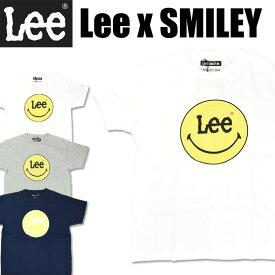 セール Lee x SMILEY リー スマイリー プリント 半袖Tシャツ メンズ レディース ユニセックス LS7382