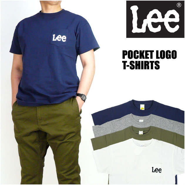 リー Lee ポケットロゴTシャツ ワンポイント LS1242 メンズ レディース プレゼント ギフト