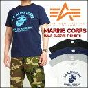アルファ ALPHA 半袖Tシャツ/MARINE CORPS TC1126 メンズ プレゼント ギフト