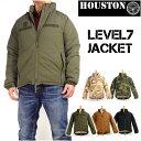 HOUSTON ヒューストン メンズ ミリタリージャケット LEVEL7 JACKET レベル7 ジャケット 50323