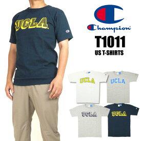 Champion チャンピオン メンズ Tシャツ T1011 UCLA ヘビーウェイトTシャツ 半袖Tシャツ MADE IN USA 送料無料 プレゼント ギフト C5-M303