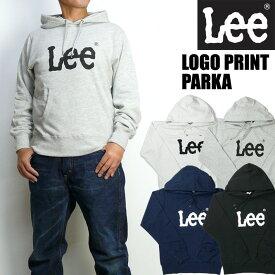 Lee リー メンズ パーカー ロゴプリントスウェット パーカー LT2453