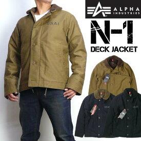 ALPHA アルファ N-1 Deck Jacket N-1 デッキジャケット ボアミリタリージャケットTA1336