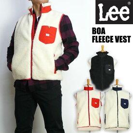 セール Lee リー メンズ ボアフリース ベスト BOA FLEECE VEST Lee OUTER WEAR LT5028