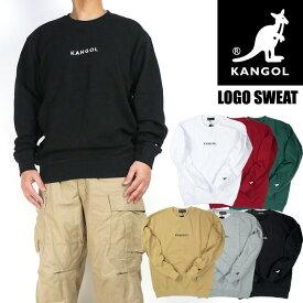 KANGOL カンゴール スウェット ワンポイント ロゴ刺繍 スウェットトレーナー メンズ レディース ユニセックス 8473-7058 9473-1019