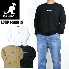KANGOL カンゴール 長袖Tシャツ ワンポイント ロゴ刺繍 Tシャツ メンズ レディース ユニセックス 9173-9017A