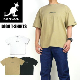 KANGOL カンゴール 半袖Tシャツ ワンポイント ロゴ刺繍 Tシャツ メンズ レディース ユニセックス 9273-0008A