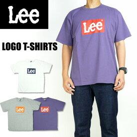 Lee リー メンズ Tシャツ ロゴプリント 半袖Tシャツ BOX LOGO LT2526