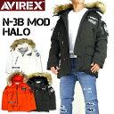 セール AVIREX アビレックス N-3B モディファイ ハロ N-3B MODIFIED HALO AVIREX MILITARY CAMP AMC メンズ フライトジャケット ミリタリージャケッ