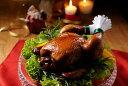 【2】国産プレミアムクリスマスチキン 【70周年記念価格】 パーティにもぴったりの丸焼き!ワインが隠し味の老舗の味は昔ながらのごち…