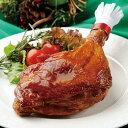 """【1】国産プレミアムローストレッグ""""70周年記念価格""""パーティにもぴったりのローストチキン。選別された九州産骨付若鶏もも肉使用。…"""
