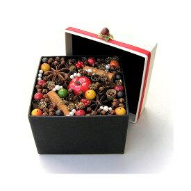 フローラボックス ベリー 大/スパイス ゲビンデ リース 装飾 飾り 香り ザルツブルグ 伝統工芸 木の実 ビーズ ドライフラワー インテリア