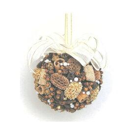 スパイスボール ザルツブルグ/スパイス ゲビンデ リース 装飾 飾り 香り ザルツブルグ 伝統工芸 木の実 ビーズ ドライフラワー インテリア