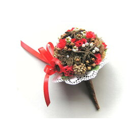 ばらとスターアニスのブーケ/スパイス ゲビンデ リース 装飾 飾り 香り ザルツブルグ 伝統工芸 木の実 ビーズ ドライフラワー インテリア