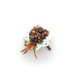 ベリースパイス ブーケ ミニ/ザルツブルク スパイス ゲビンデ リース 装飾 飾り 香り ザルツブルグ 伝統工芸 木の実 ビーズ ドライフラワー インテリア