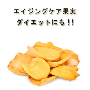 農薬不使用 安心・安全品質「純粋ドライジャックフルーツ」80g♪砂糖不使用 無添加 無漂白 保存食 非常食 スーパーフード フェアトレードドライフルーツ パラミツ ハラミツP08Apr16