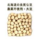 農薬不使用 「大袖の舞大豆/だいず」200g♪【青大豆 無肥料 自然栽培 純国産の北海道産100% ダイズ/ソイ/大豆粉/穀類…