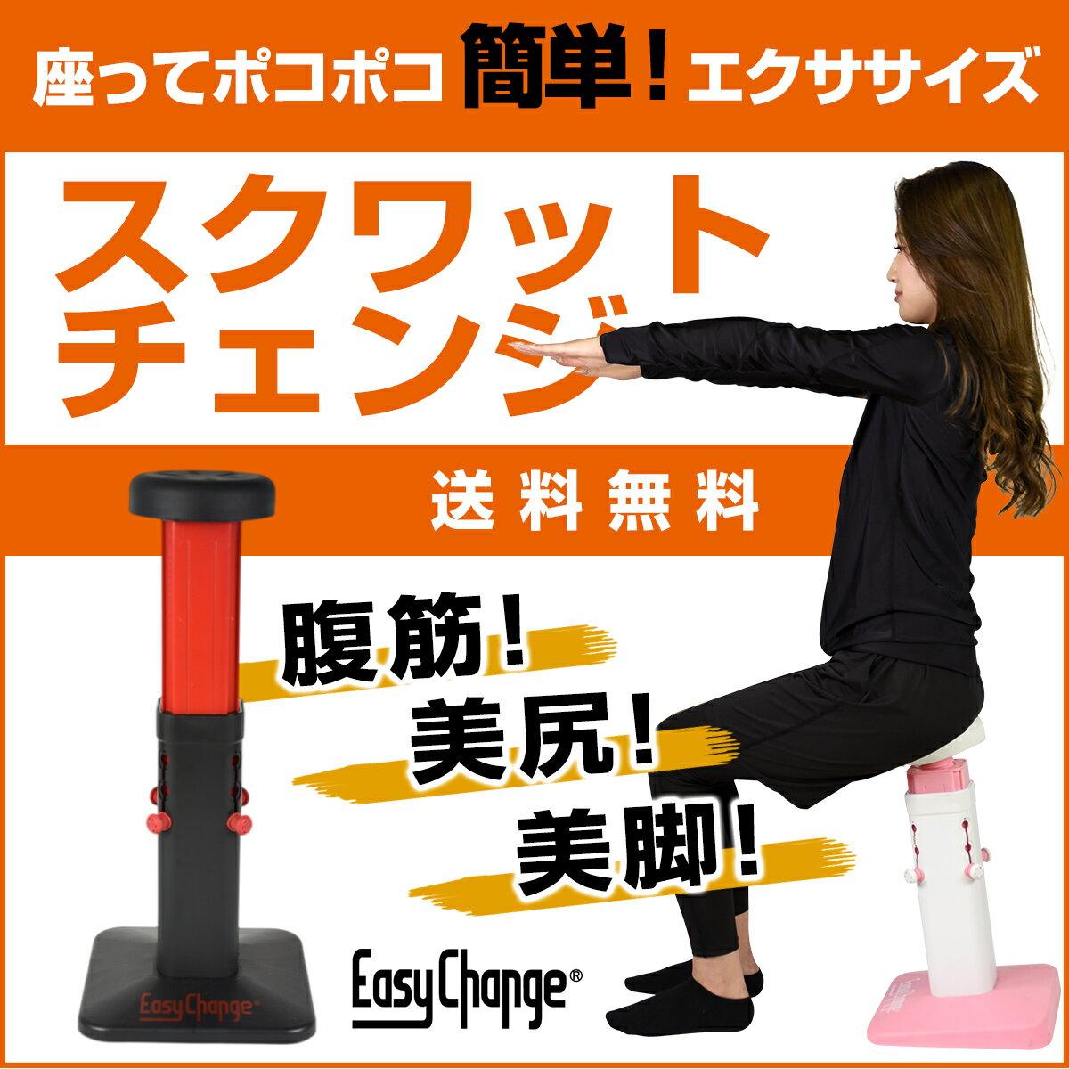 スクワットチェンジ 腹筋 美脚 スクワット 下半身 ダイエット器具 フィットネス トレーニング EasyChange