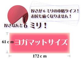 厚さ6mmヨガマットサイズ