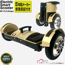 電動スマートスクーター オフロード 折りたたみタイプ バランススクーター PSEマーク届出済 Airbike ホバーボード 立ち乗りスクーター バランスボード 電動二輪車