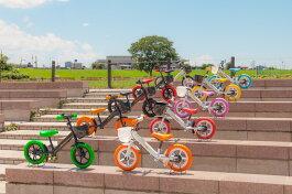 【送料無料】キッズバイクペダルなし自転車子ども用自転車子供用自転車ブレーキ付きランニングバイクキックバイクバランスバイクAirbike「公園の天使」