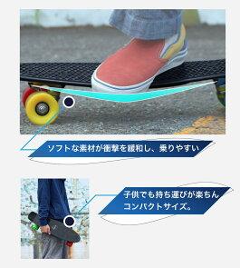 スケートボードミニクルーザーミニボードスケボービニールクルーザーコンプリート【送料無料】