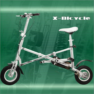 X-baisukuru(A-摩托车,偷艾达型)折叠自行车