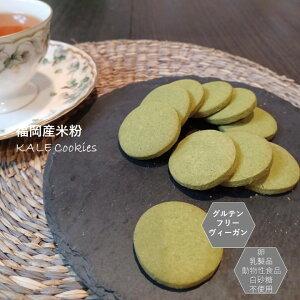 グルテンフリー ビーガン 米粉100% ケール クッキー 小麦粉 卵 乳製品 動物性油 不使用 アレルギー対応 ダイエット ヴィーガン 授乳中