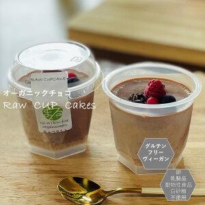 グルテンフリー ビーガン RAWCUPチョコタルト小麦粉・卵・乳製品・動物性不使用 アレルギー対応 ダイエット スイーツ ヴィーガン ロースイーツ
