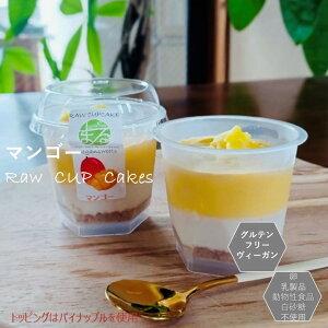グルテンフリー ビーガン パイナップル RAWCUPケーキ 小麦粉・卵・乳製品・動物性不使用 アレルギー対応 ダイエット スイーツ ヴィーガン