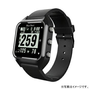 【数量限定】 HUG-B テクタイト Shot Navi HuG ブラック 腕時計型タイプ