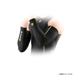 【最大1800円クーポン配布】4548499654138 SKINS スキンズ A200M スリーブ メンズ ブラック イエロー Lサイズ アームカバー A200 COMPRESSION BKYL JAPAN FIT