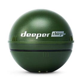 【最大1200円クーポン配布】4779032950480 Deeper Smart Sonar CHIRP+ ディーパースマートソナー チャーププラス 魚群探知機 キャスト可能 小型 フィッシング用 穴釣り対応 GPS内蔵 水中スキャン WIFI