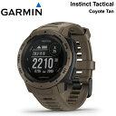 【割引クーポン配布 12/16 9:59迄】【5年延長保証購入可能】010-02064-92 GARMIN ガーミン Instinct Tactical Coyote …