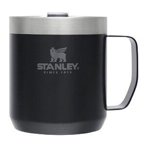 STANLEY クラシック真空マグ 0.35L マットブラック スタンレー スタンレイ コップ カップ アウトドア マグ マグカップ 保温保冷 おしゃれ フタ付き シンプル オフィス コーヒーカップ 会社 運動
