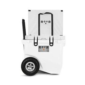 ROVR ローバー ローラー45 クーラーボックス POWDER 42.5L 大型 キャスター 大容量 クーラーBOX 大型タイヤ キャリーワゴン 折りたたみボックス付き アウトドア キャンプ用品 おしゃれ 45PROLLRW 【沖縄・離島等は販売不可】