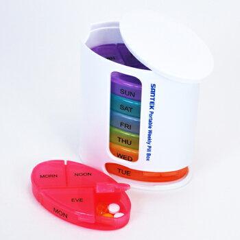 ピルケース薬サプリメント錠剤携帯用お薬カレンダーお薬手帳1週間タイプ飲み忘れ防止おしゃれ薬ケース薬入れ薬箱