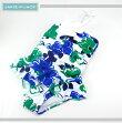 JANIEANDJACK/ジェニーアンドジャックスイムウェア水着お花付きフラワープリントキッズガールズ女の子(ブルー×グリーン)
