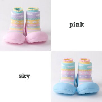 Attipas [アティパス] baby shoes [アティベ べ] 1 year old birthday present first shoes baby shoes baby shoes