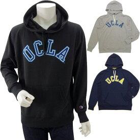 国内正規品 チャンピオン CHAMPION UCLA ASS PARKA スウェットパーカー cs1600z 【後払い可能】 【キャッシュレス対応】