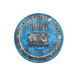 ルーゾー REUZEL ポマード ブルー 水性 ストロングホールド M 113g
