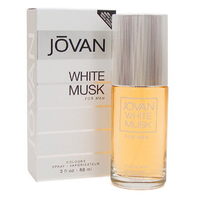 ジョーバン ホワイトムスク フォーメン(ホワイトパッケージ)コロン 88ml(メンズ)